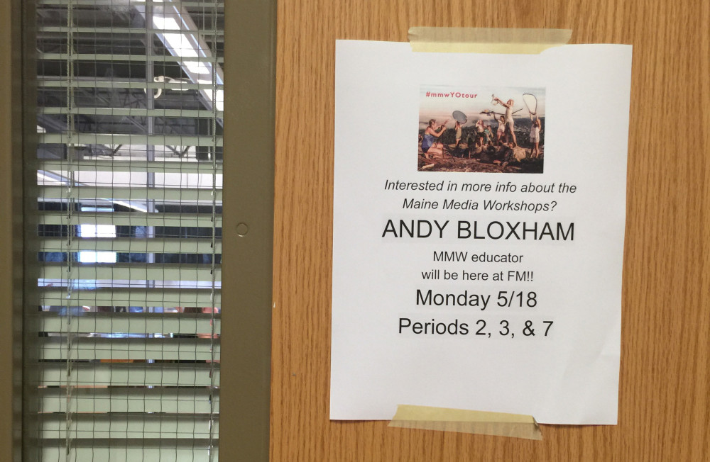 #mmwYOtour Andy Bloxham Fayetteville-Manlius High School