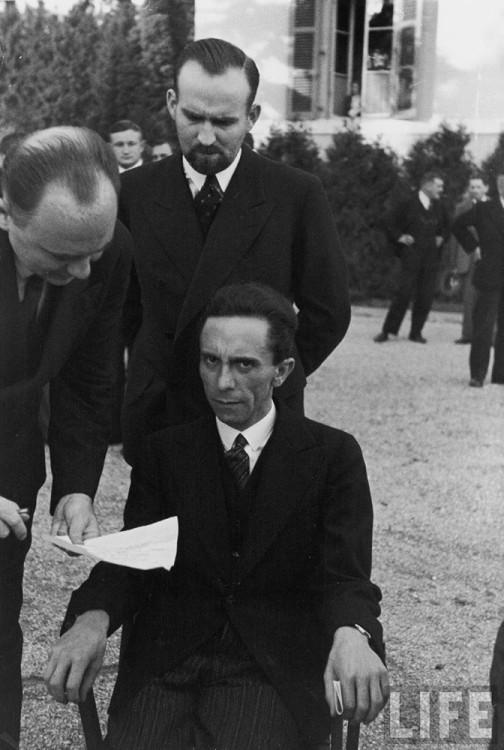 Alfred Eisenstaedt Joseph Goebbels portrait