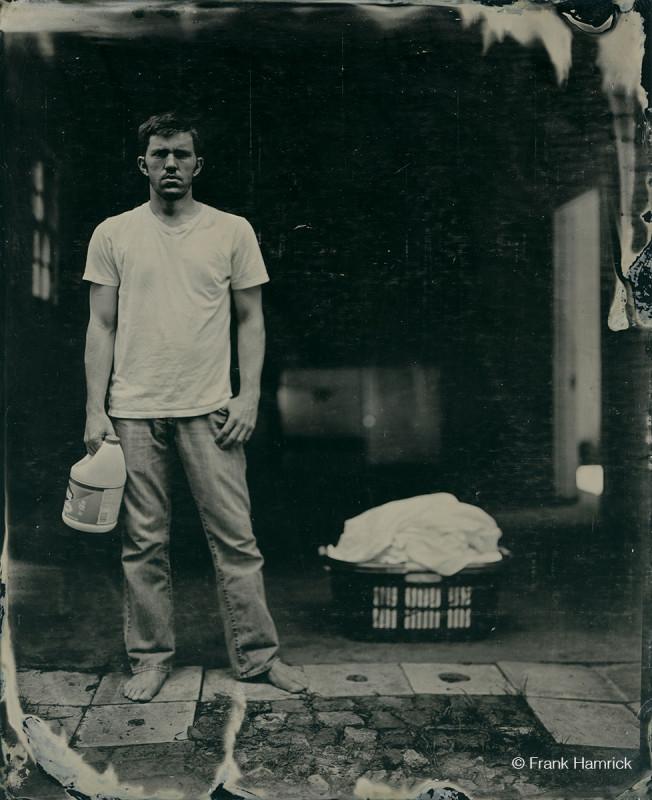 Andy Bloxham portrait by Frank Hamrick frankhamrick.com